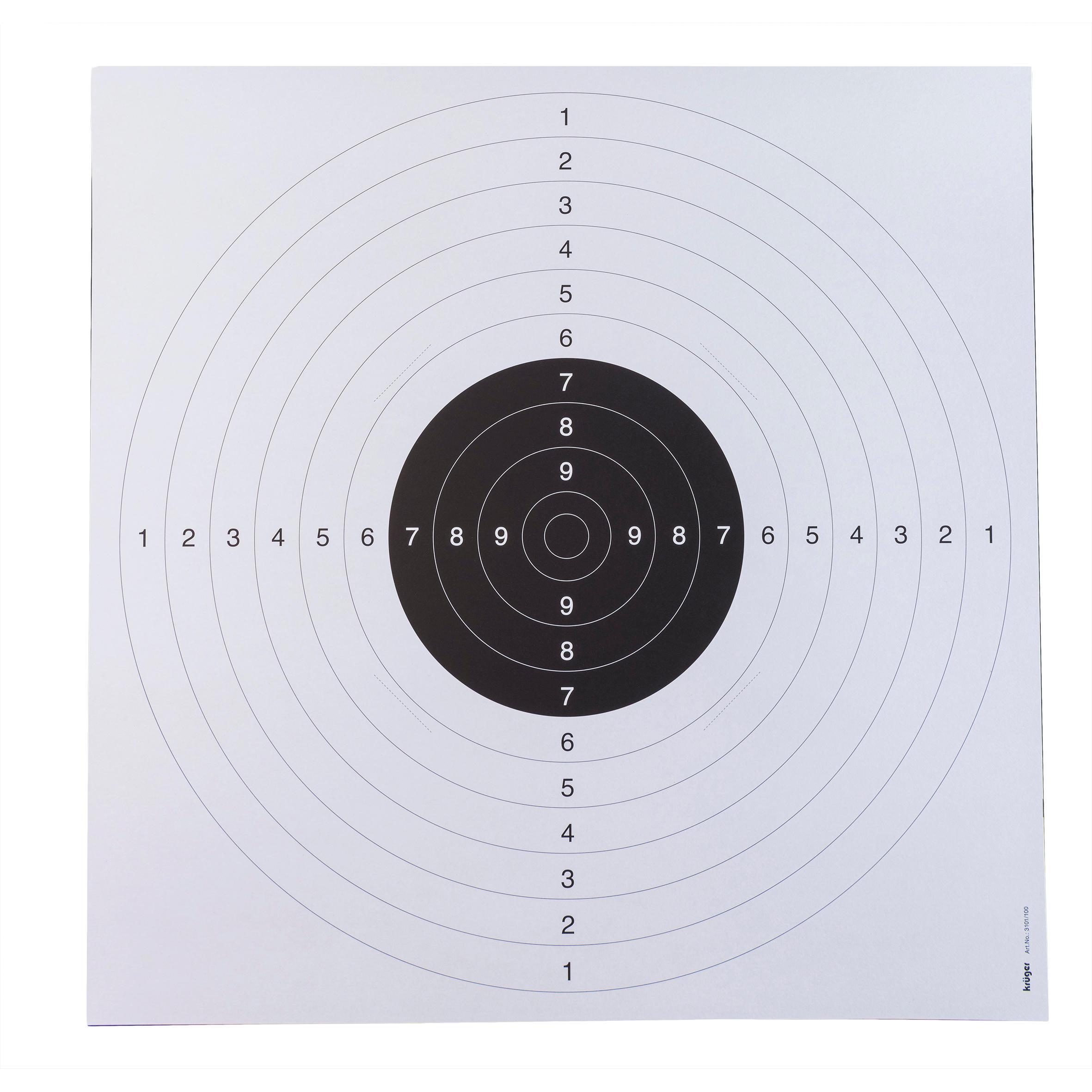 Ţintă Pistol 25cm bej x20