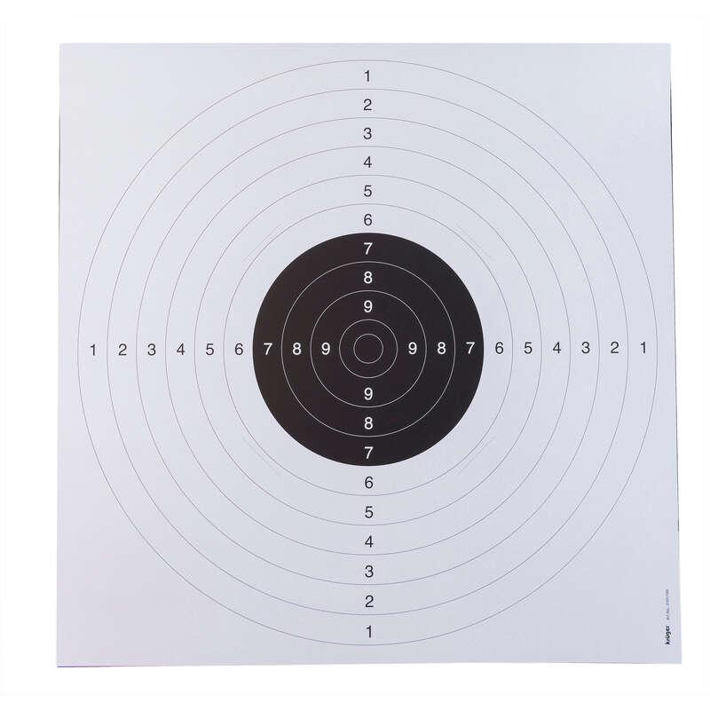 OPREMA ZA STRELJANJE V TARČO Streljanje - 25-metrska tarča (20 kosov)  KRUGER DRUCK PLUS VE - Streljanje z zračno puško