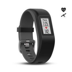 Bracelet d'activité avec cardio au poignet Vivosport Gris