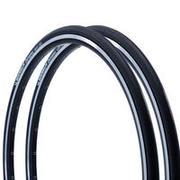Črna pnevmatika DYNAMIC SPORT (700 x 25/ETRTO 25-622, 2 kosa)