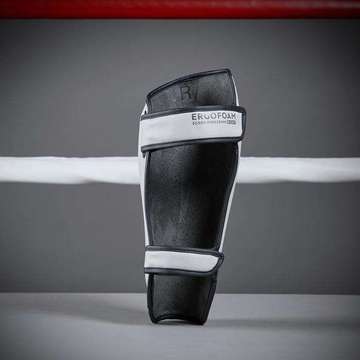 Schienbeinschoner 500 ERGO Boxsport grau