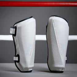 500 Ergo Boxing Shin Guard - Grey