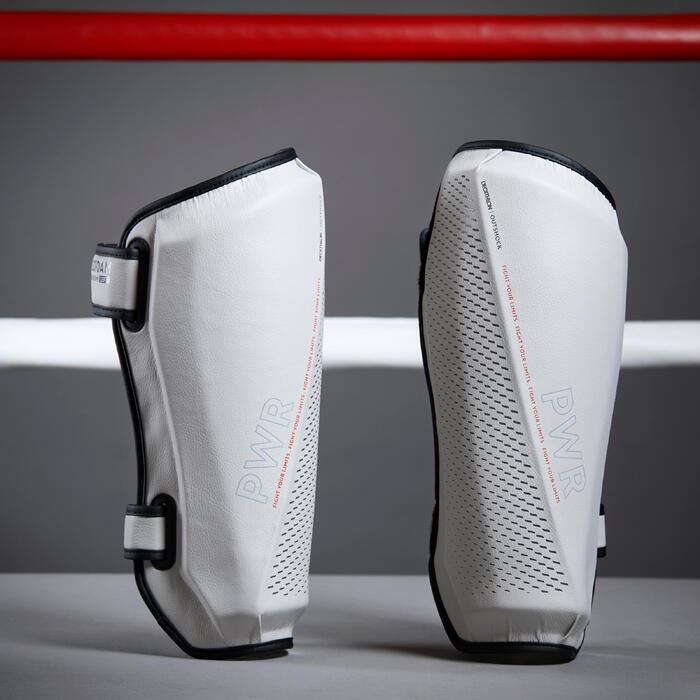 Scheenbeschermers voor boksen 500 Ergo grijs