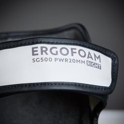 PROTÈGE-TIBIAS DE BOXE 500 ERGO GRIS