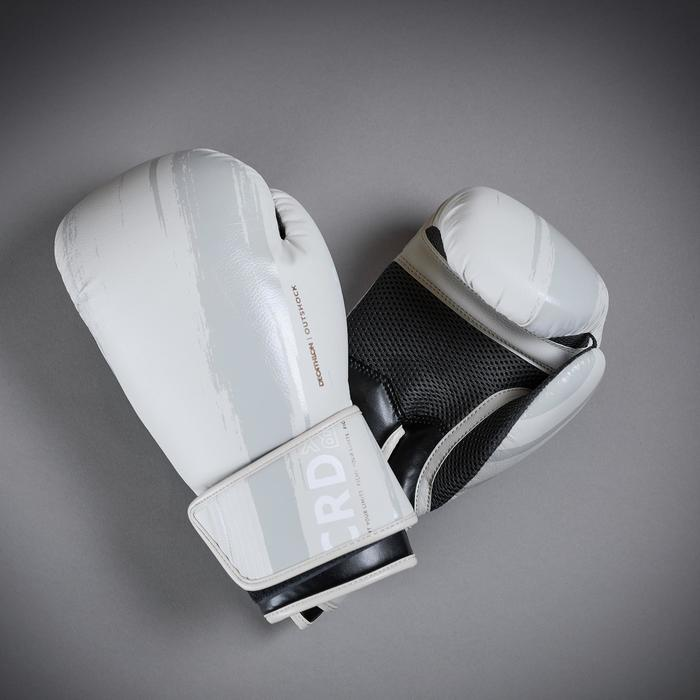 Bokshandschoenen 300 beige, geschikt voor beginners