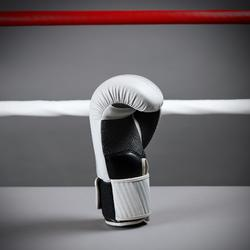 Boxhandschuhe 300 Training Einsteiger unisex beige