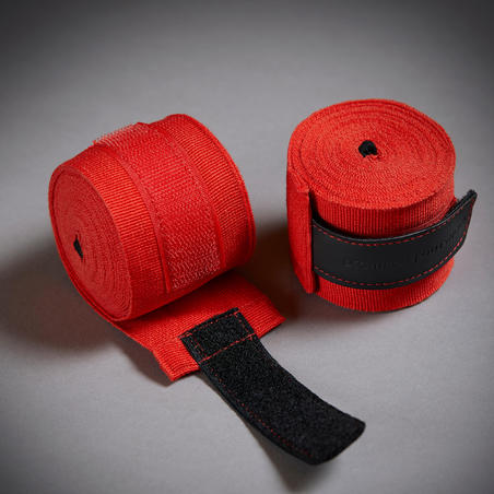 500 Boxing Wraps 4 m - Red