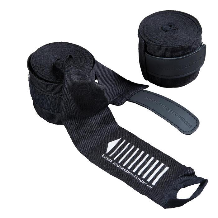 4 M拳擊繃帶500 - 黑色