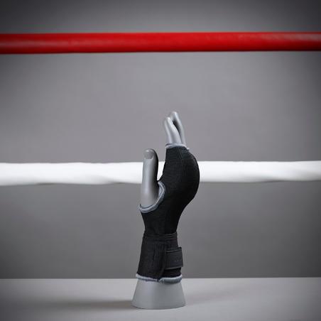 Sous-gants de boxe 500 noir