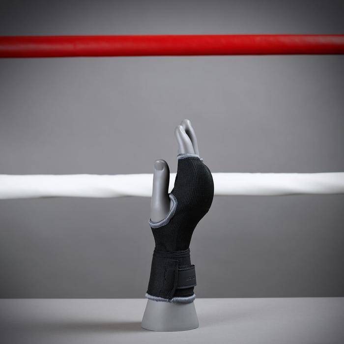 拳擊內層手套500黑色