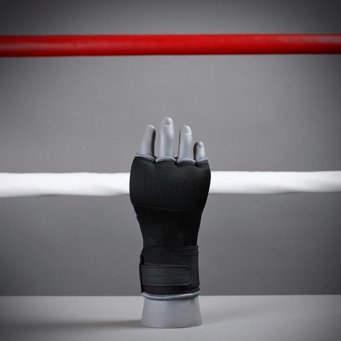 Sous-gants de boxe 500 noirs