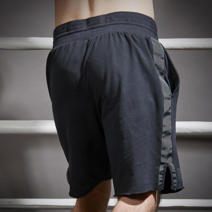 Boxhose 100 Erwachsene schwarz