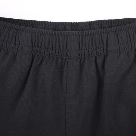 Pantalon respirant, léger W500 garçon GYM ENFANT noir