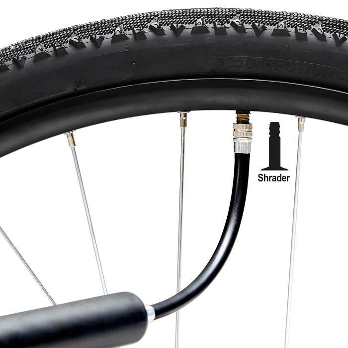 Fahrradpumpe Verlängerungsschlauch und Ventiladapter
