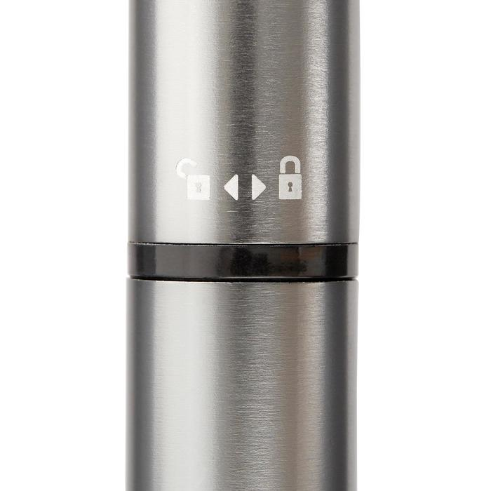 Mini-Handpumpe Rennrad grau