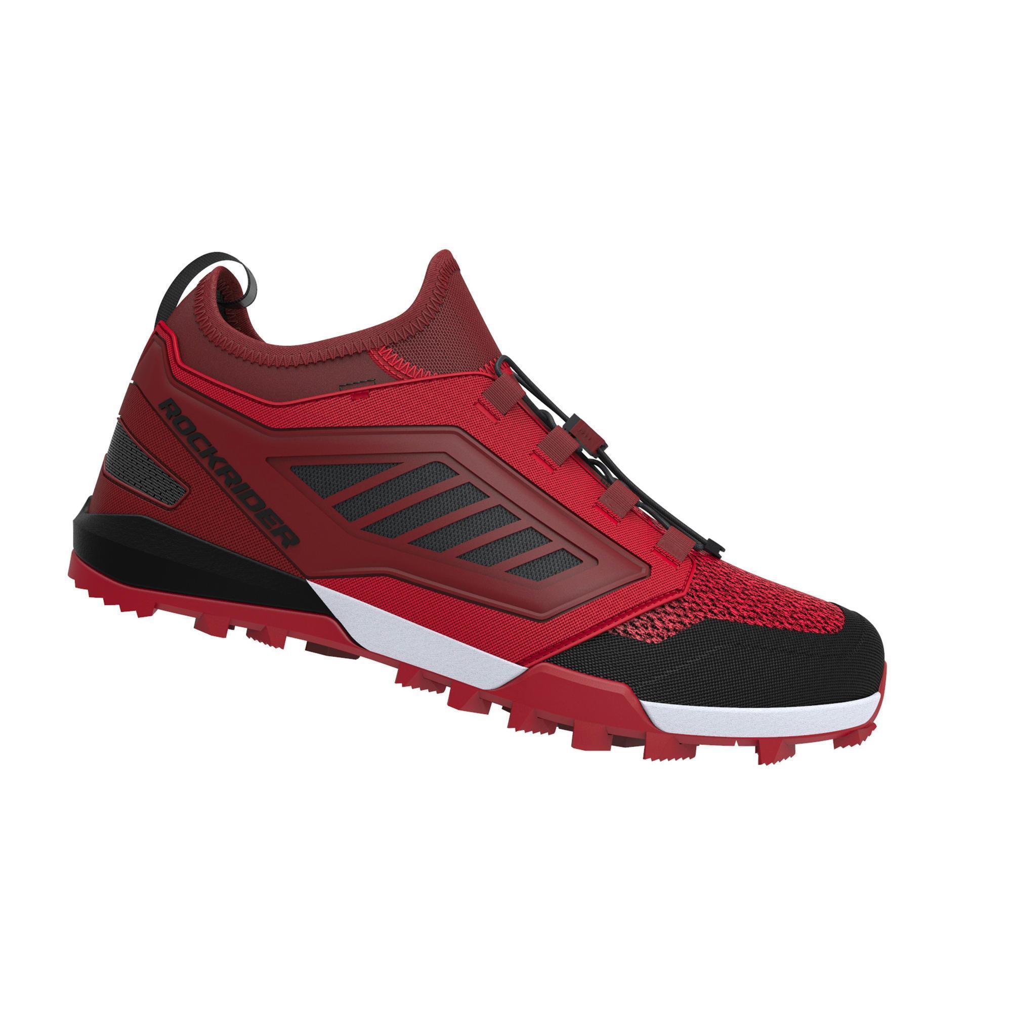 Rockrider MTB-schoenen ST 500 rood kopen