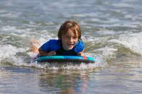 Bodyboard BODYATU enfant 4-8 ans camouflage poignées