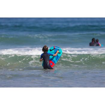 Bodyboard Bodyatu Kinder 4–8 Jahre mit Griffen tarnfarben