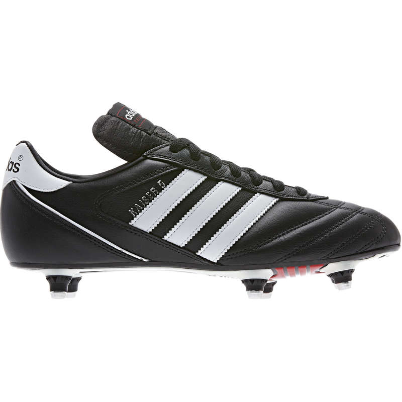 Soft pitch Football - Kaiser cup adult football boots - black ADIDAS - Football Boots