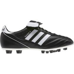 Botas de Fútbol adulto Adidas Kaiser FG negro y blanco