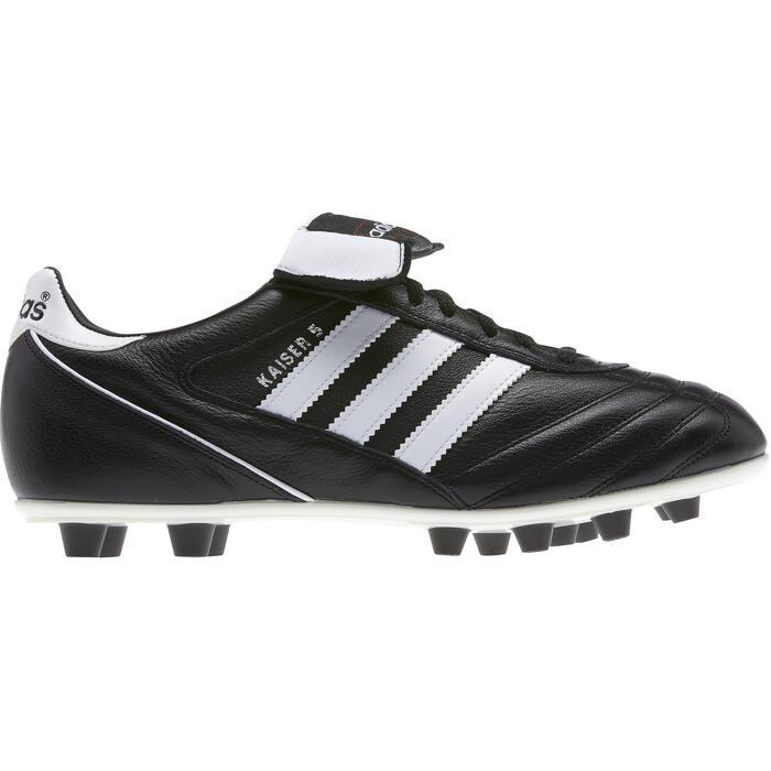 Chaussure de football Adidas Kaiser FG adulte noir