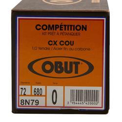 Boulekugeln Obut CX Cou glatt Allroundkugeln Wettkampf 3 Kugeln halbweich