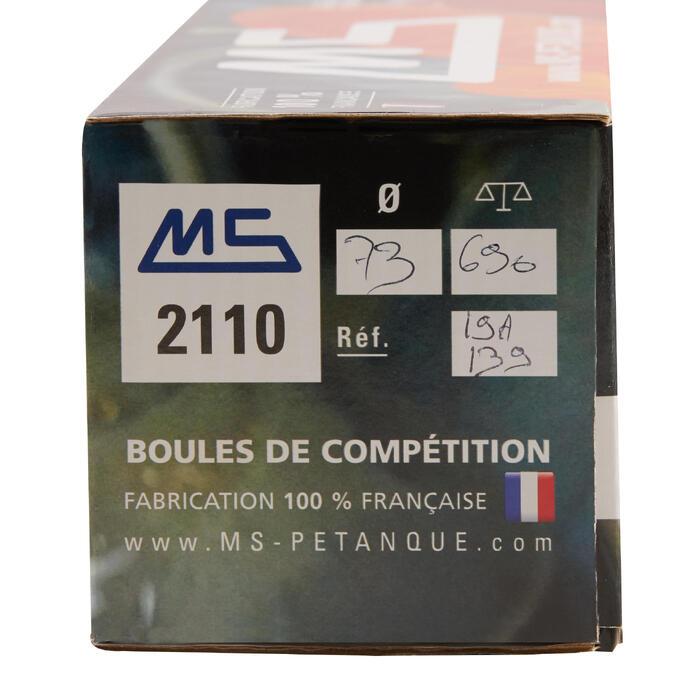 BOULES DE PÉTANQUE COMPÉTITION MS 2110