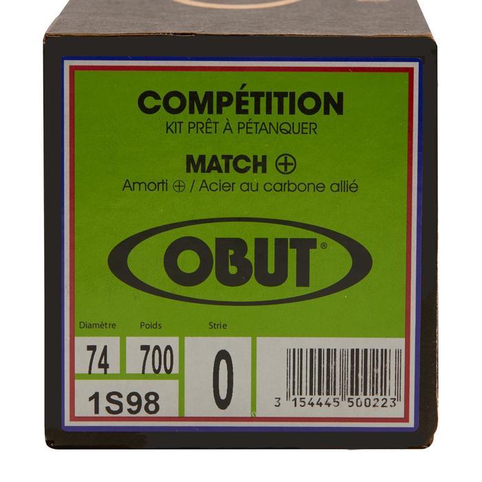 Petanqueballen voor competitie Obut Match+