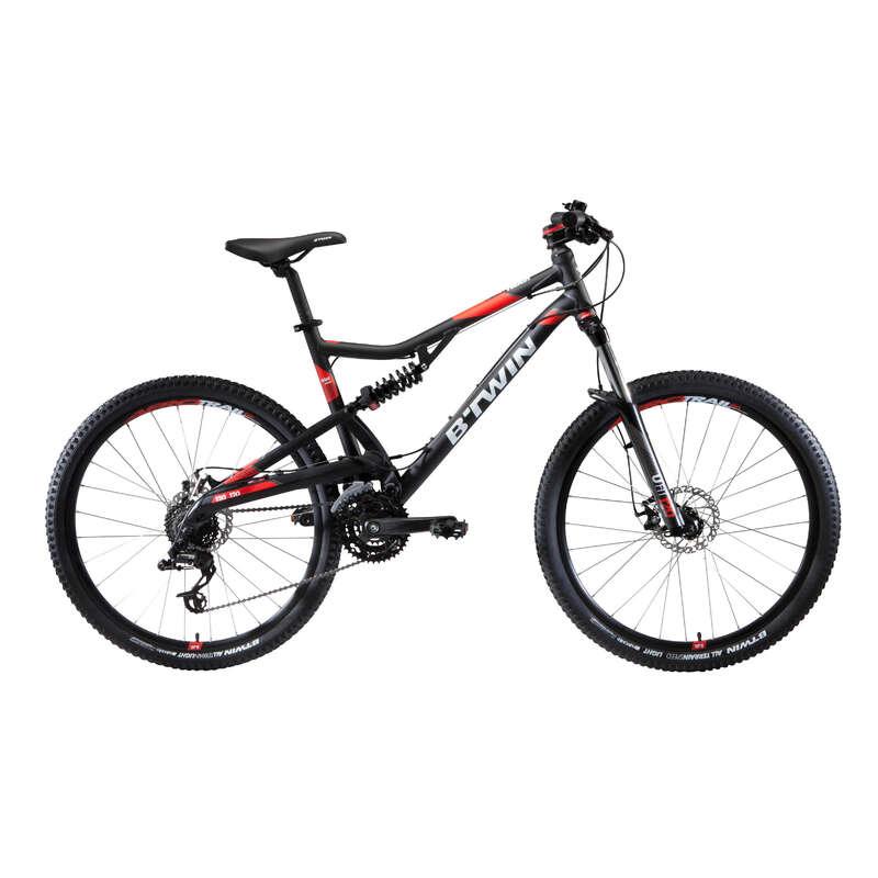 BICICLETĂ MTB AVANSAT/EXPERT BĂRBAȚI - Bicicletă MTB ST 520 S Gri ROCKRIDER