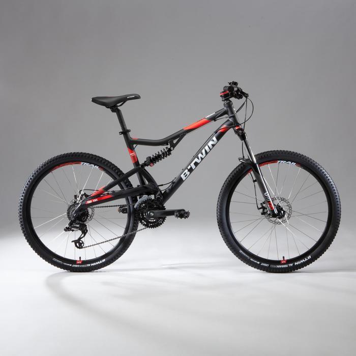 "Mountainbike Rockrider ST520S 27,5"" grau"