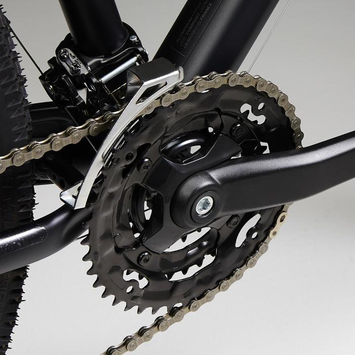 """Mountainbike ST 520 zwart/blauw 27.5"""""""