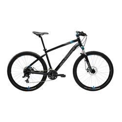 """Mountainbike ST 520 27.5"""" 3x8 speed microshift/sram zwart/blauw"""