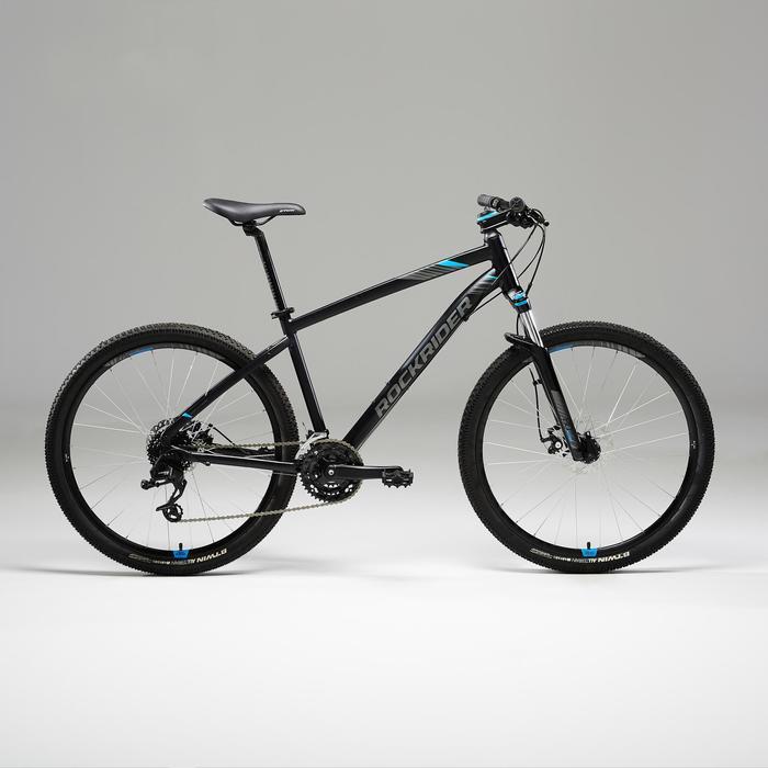 """Mountainbike ST 520 MTB 27,5"""" schwarz/blau"""