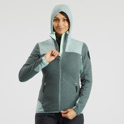 Veste polaire chaude de randonnée - SH500 X-WARM - femme