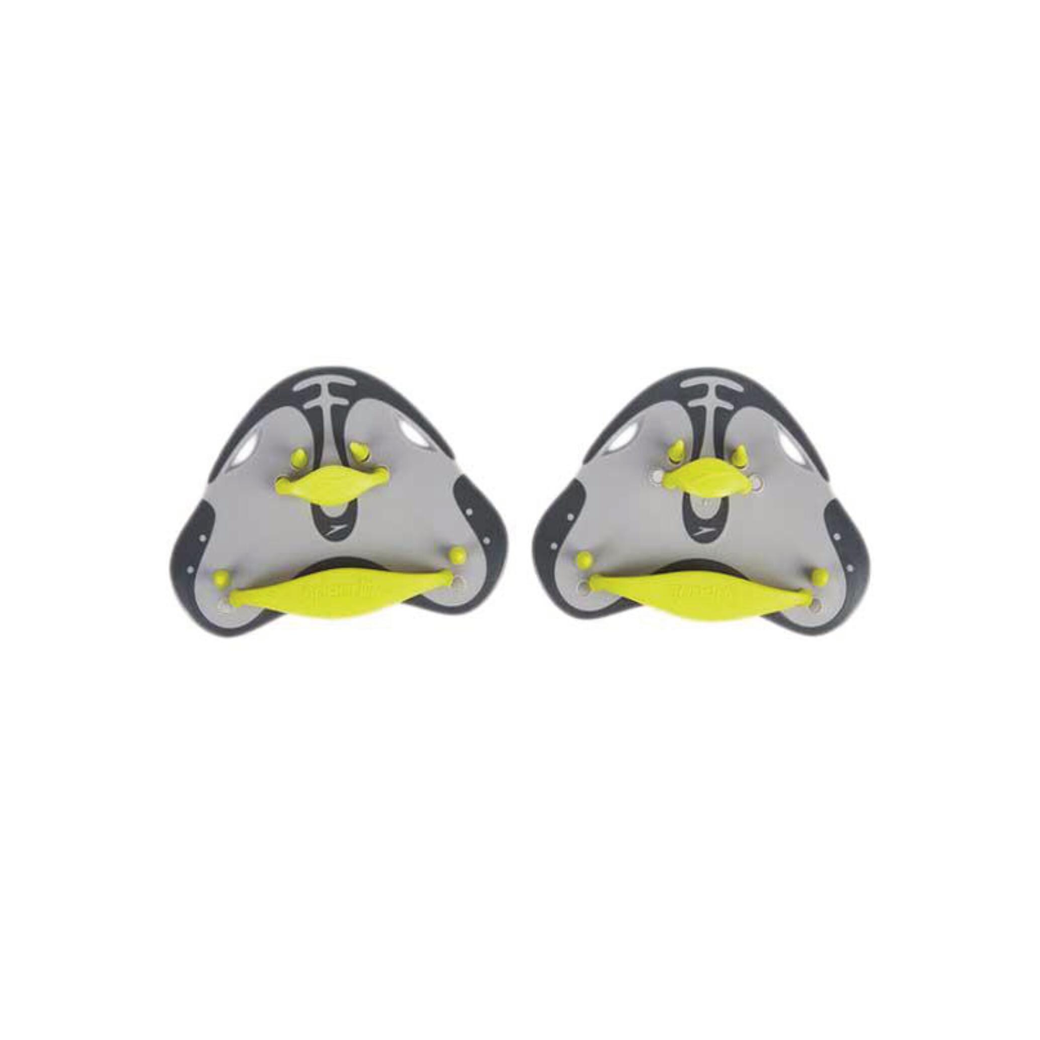 Speedo Finger paddle BioFuse groen/grijs kopen
