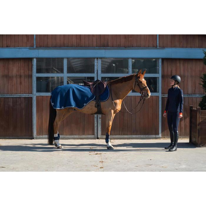 Couvre-reins équitation cheval POLAR 560 bleu