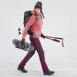 女款超保暖防水雪地健行中筒鞋SH520