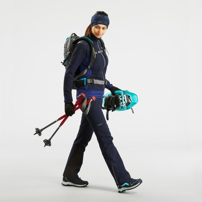 Chaussures de randonnée neige femme SH920 x-warm mid bleu
