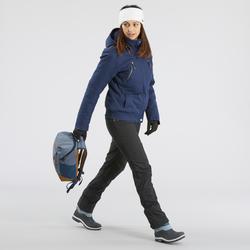 Schneestiefel Winterwandern SH500 Extra-Warm Damen ice