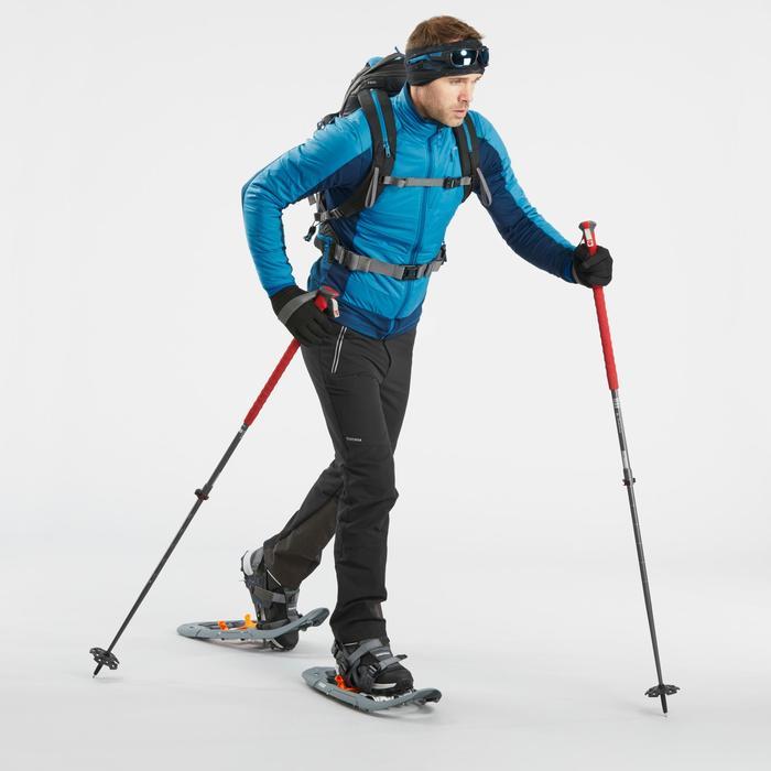 Hybridjacke Winterwandern SH900 X-Warm Herren blau