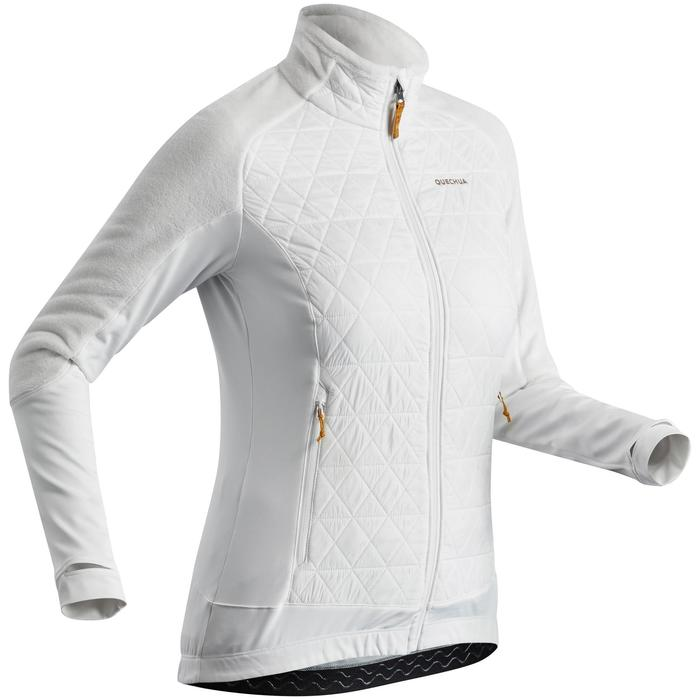 Veste polaire chaude hybride de randonnée neige - SH900 X-WARM - femme
