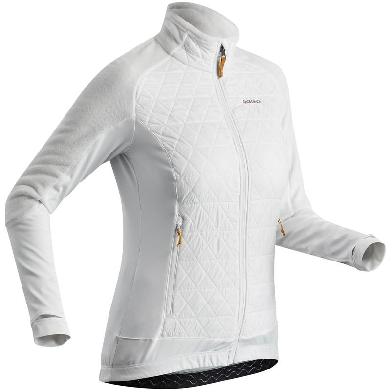 Veste polaire chaude hybride de randonnée - SH900 X-WARM - femme