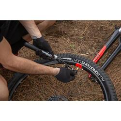 Bomba Aire Manual Ciclismo Btwin Rojo