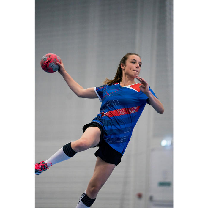 Ballon de handball adulte H900 IHF Taille 2 rose / gris