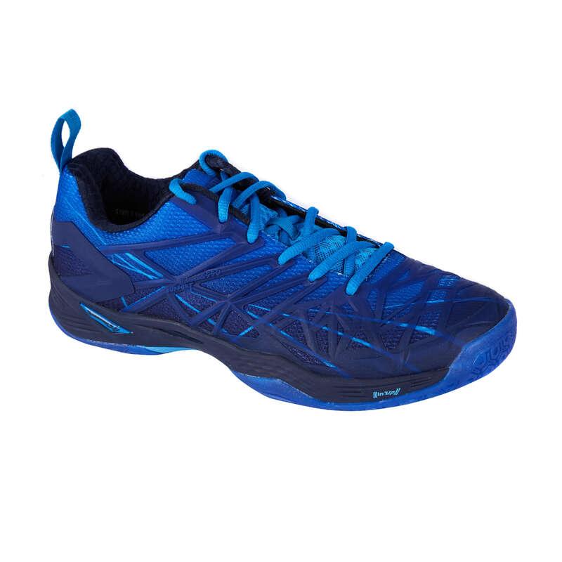 BUTY ZAAWANSOWANI MĘŻCZYZNA Badminton - Buty BS990 niebieskie PERFLY - Badminton