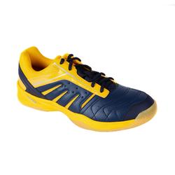 MEN BADMINTON SHOES BS 560 LITE YELLOW BLUE
