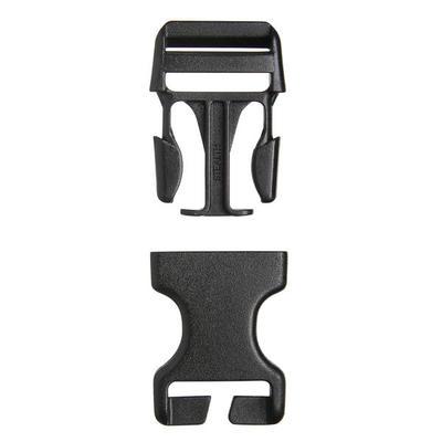Комплект з 2 пряжок-фіксаторів для рюкзаків, 25 мм