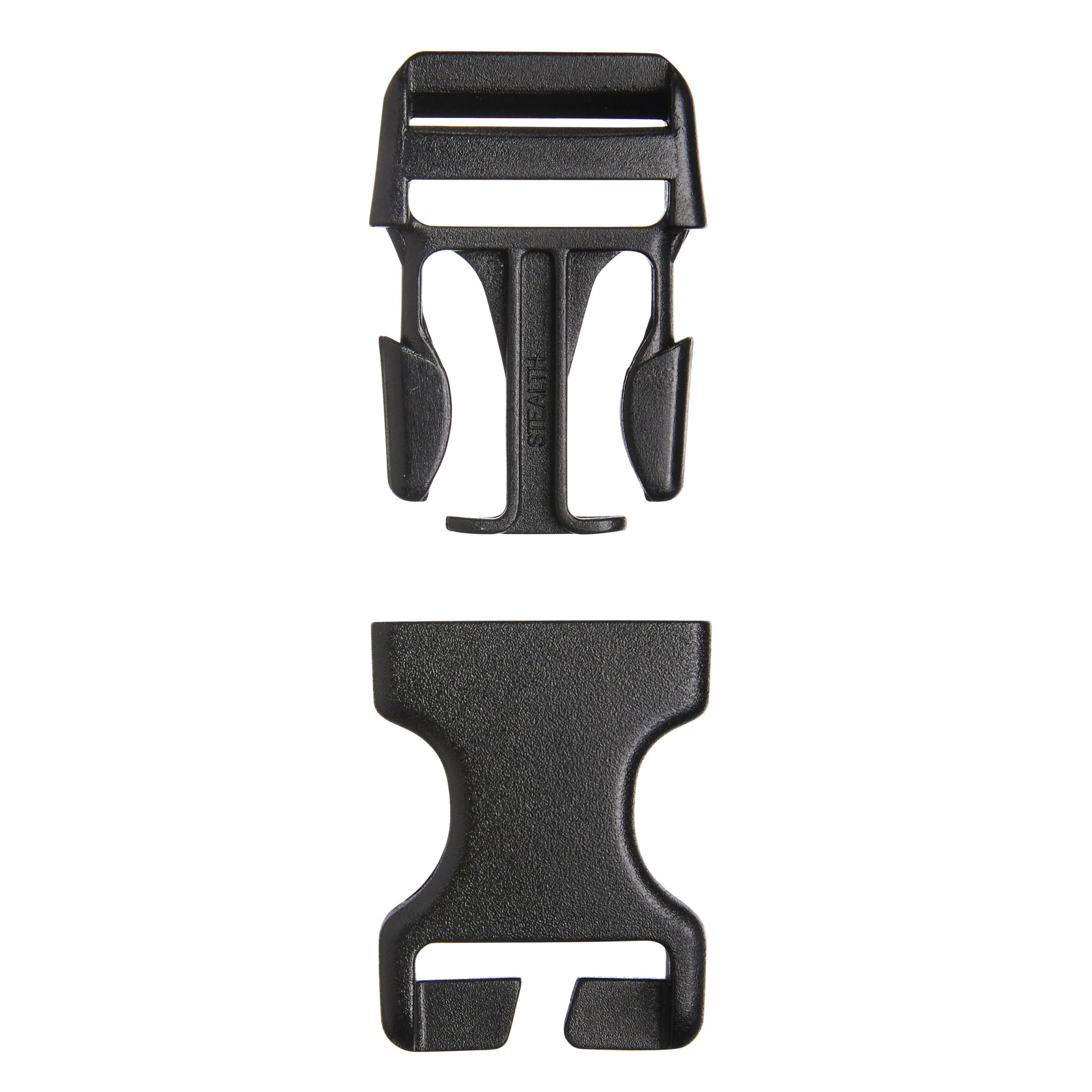 Pack of 2 quick buckles for backpack 25mm