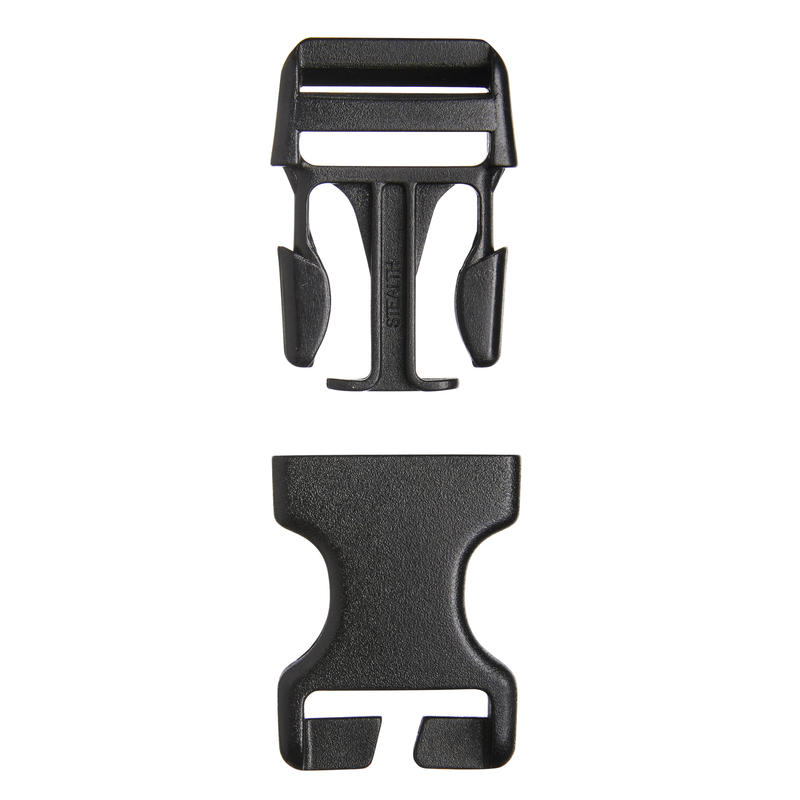 Set of 2 Backpack Quick-Release Buckles - 25mm