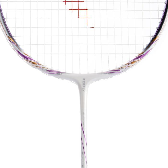 Badmintonracket voor volwassenen BR 900 Ultra Lite S wit/paars